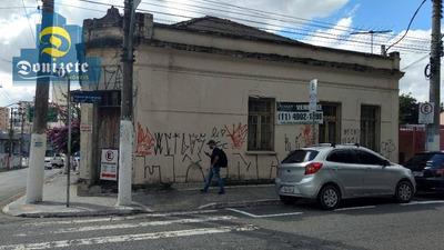 Terreno Residencial À Venda, Centro, Santo André. - Te0633