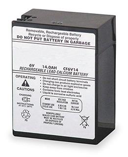 Lithonia Iluminación Elb 0614 6 V Reemplazo De La Batería