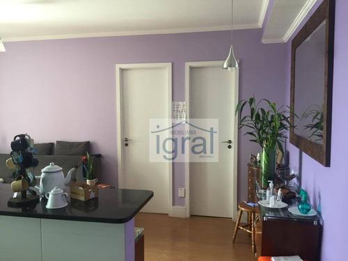 Imagem 1 de 25 de Apartamento Para Alugar, 76 M² Por R$ 2.300,00/mês - Vila Guarani (zona Sul) - São Paulo/sp - Ap1233