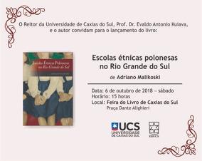 Escolas Étnicas Polonesas No Rio Grande Do Sul