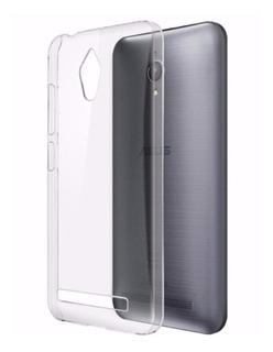 Capa Tpu Transparente Asus Zenfone Go Zc500 + Película Vidro