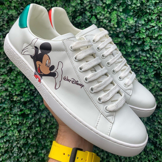Tenis Gucci Mickey Mouse Rhyton