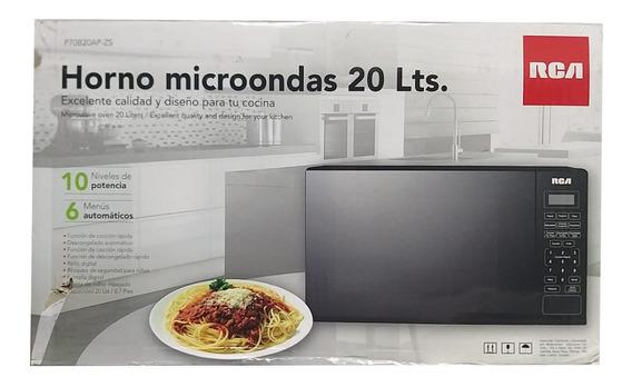 Microondas Rca 20 Litros Puerta Espejo Megaprecio +batidora