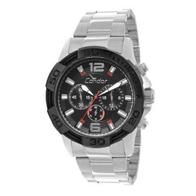 Relógio Masculino Condor Covd54ab/3p Pulseira Aço Prata