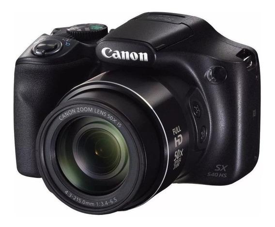 Camera Fotografica P/youtuber Canon Powershot Sx540hs Wi-fi