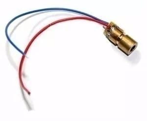 20 Peças - Laser Diodo Vermelho 5v 650nm 6mm Arduino Alarme
