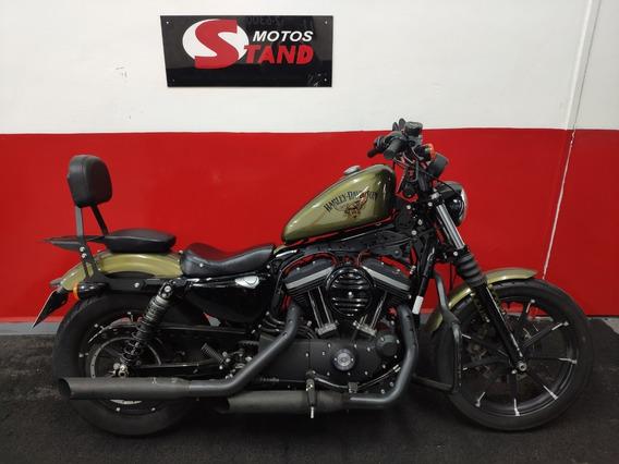 Harley Davidson Sportster Xl 883 N Iron Abs 2016 Verde