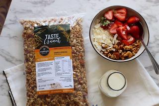 Granola Homemade Taste 1kg 100% Natural Con Coco Y Miel