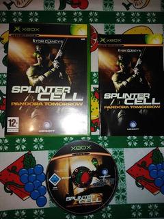 Splinter Cell Pandora Tomorrow, Xbox Clasic
