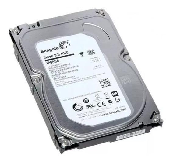 Hd 1tb Sata 3 Seagate 3.5 P/ Dvr Pc Desktop Novo+garantia