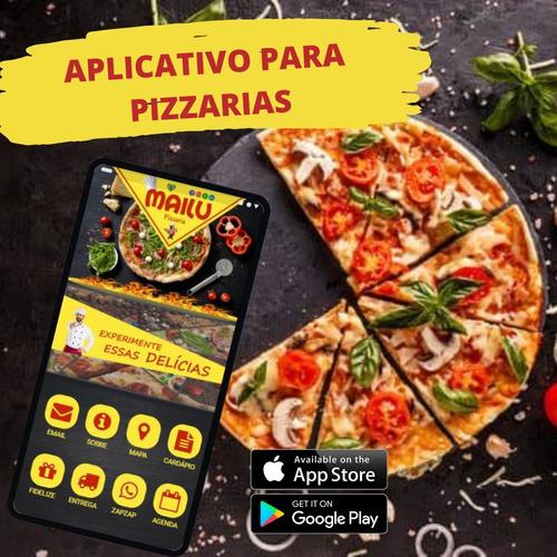 Imagem 1 de 3 de Aplicativo Exclusivo P/ Sua Pizzaria