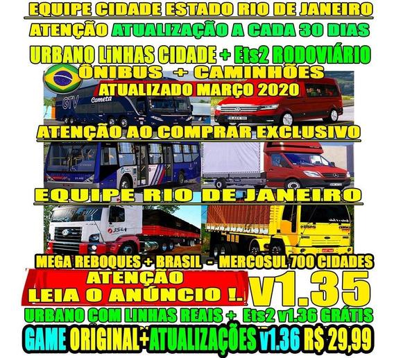 Euro Truck 2 Brasil Mod Bus + Caminhões Bitrem Ets2 2020
