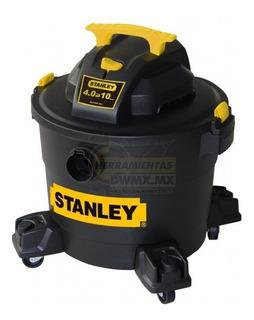 Aspiradora Stanley 10 Galones / 6 Hp Industrial
