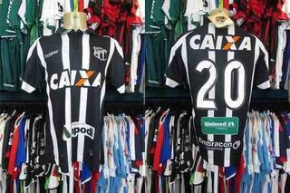 Ceará 2017 Camisa Titular Tamanho M Número 20.