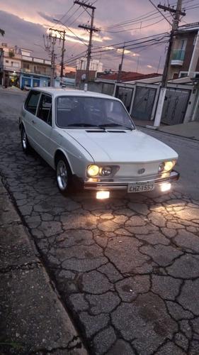 Volkswagen Brasília Ls 1600 1982 Branca Carburação Dupla