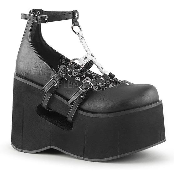Zapatos Mujer Platagorma Demonia Kera-09 Gotica Jeffree Star