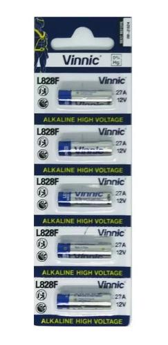 20 Pilas Vinnic A27 12v Alcalina