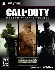Call Of Duty Modern Warfare Trilogia Mw2 Mw3 Mw Ps3 Psn