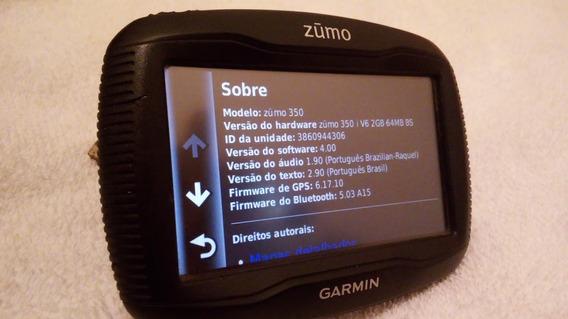 Gps Garmin Zumo 350lm Mapa Vitalicio Moto