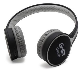 Audifonos Diadema Bluetooth Ghia N1 Hifi Sound Negro/gris 10