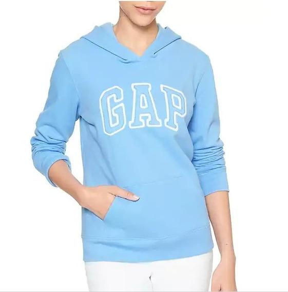 Sudadera Gap Mujer Color Azul Hanover Talla L