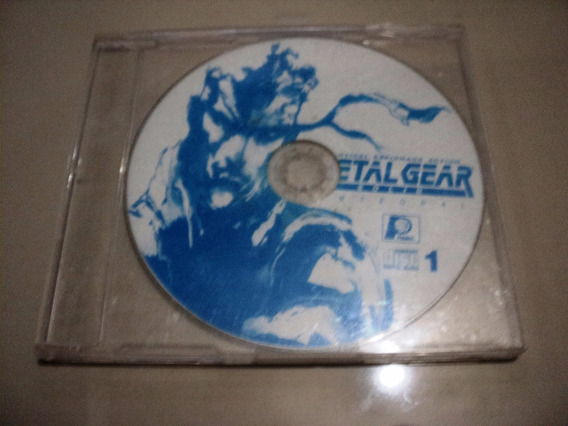 Jogo Ps1 - Metal Gear Solid