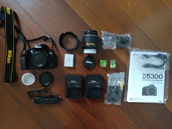 Nikon D5300 + Lente 18-55mm Vrii