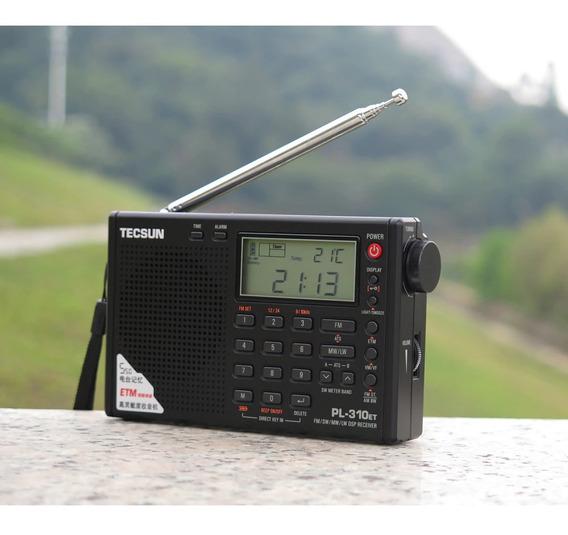Rádio Receptor Tecsun Pl-310et (pronta Entrega)