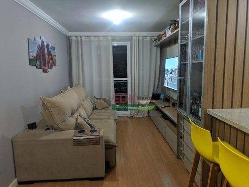 Imagem 1 de 19 de Apartamento Com 3 Dormitórios À Venda, 82 M² Por R$ 435.000 - Vila Nossa Senhora Das Vitórias - Mauá/sp - Ap8719