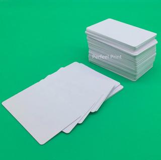 Tarjetas Pvc En Blanco X 100 Imprimible Adoble Cara Inkjet