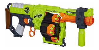 Lanzador Nerf Doominator Atque Zombie Original