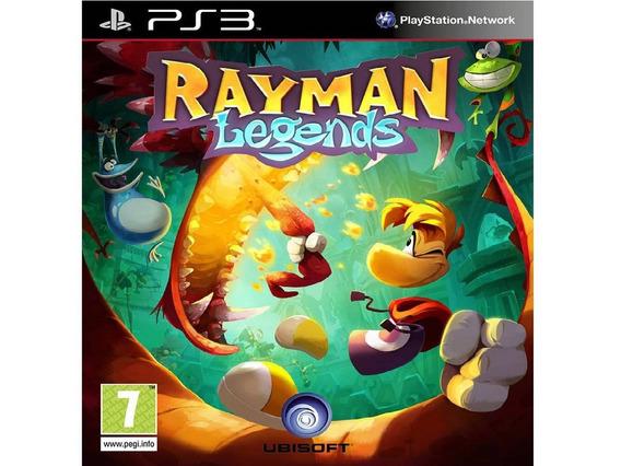 Jogo Ps3 Rayman Legends Midia Digital Cod.psn Envio Imediato