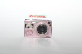 Câmera Digital Sony Dsc-120, Com Defeito.retirar Peças