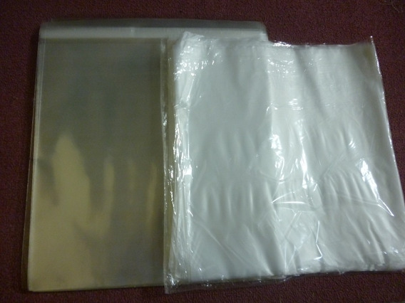 100 Bolsas Lp(80 Micrones) C/adhesivo.+100 Internasp/vinilos