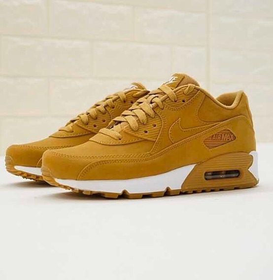 Zapatillas Nike Air Max Color Mostaza