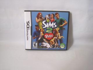 Juego Sims 2 Pets Pa Consola Nintendo Ds Usado