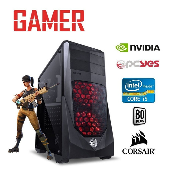 Pc Gamer Cpu Intel Corei5 3geração 8gb Ram+hd 500 Gb