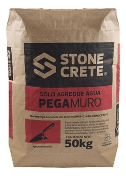 Stonecrete Pegamuro Mortero Para Junteo De Block