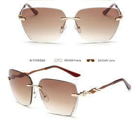 ca5241421 Lindos Óculos De Sol Feminino Com Proteção Uv, Uva E Uvb - Óculos no ...