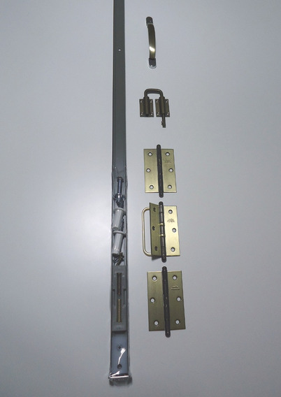 Kit Ferragem Completo Porta Camarão Bronze
