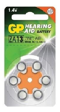 Pila Baterias Auditivas Gp Za13-d6 Tienda Fisica