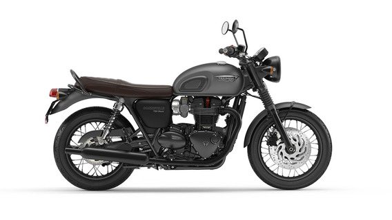 Triumph Bonneville T120 Black 1200 Cc. Dolar Oficial.