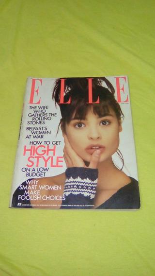 Revista Elle Americana Maio 1986