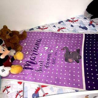 Regalo Para Bebe Baby Shower - Cobija Personalizada