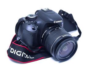 Canon T3i + Lente 18-55mm + Bolsa De Transporte