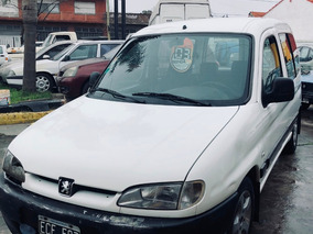Peugeot Partner 1.9 Furgon Vidriado Con Asientos 2003
