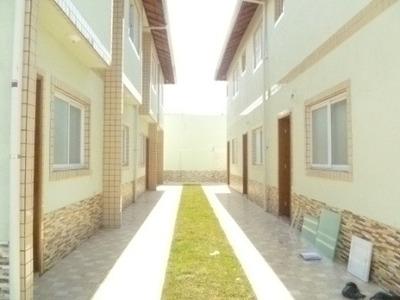Lindo Sobrado Em Mongaguá, Condomínio Com Piscina - 1278