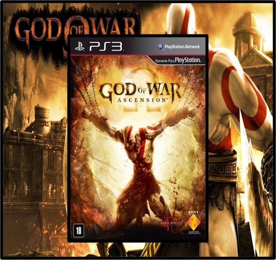 God Of War Ascension Dublado Português Psn Ps3 Envio Hoje