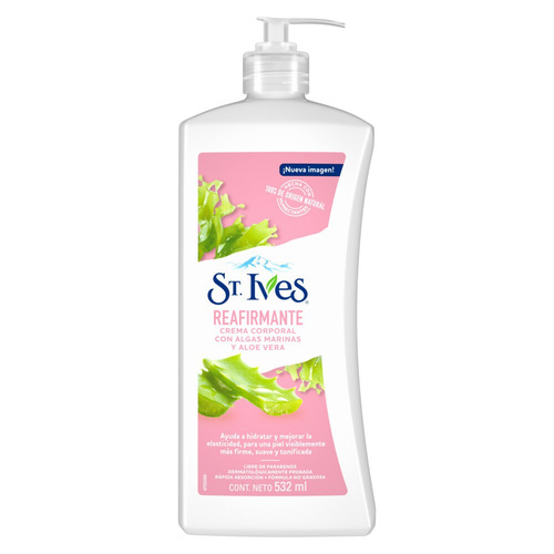 Crema St. Ives Reafirmante con dosificador 532ml