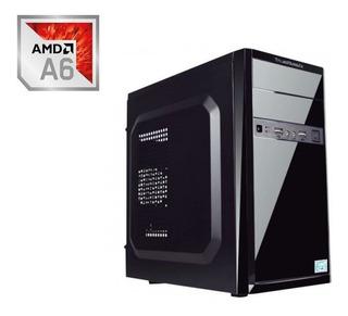 Ojo Pc Computadora Cpu Gamer Barata A6 7480 500gb 4gb Ddr3